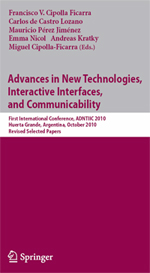 Advances in New Technolog4ies, Interactive Interfaces and Communicability (ADNTIIC 2011): Design, E-commerce, E-learning, E-health, E-tourism, Web 2.0 and Web 3.0