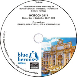 Academic CD Proceedings: HCITOCH 2013  (Rome, Italy) :: ISBN 978.88.96.471.234 :: DOI 10.978.8896471/234