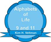 Alphabets of Life :: 9 and 11 :: Books by Kim Henry Veltman