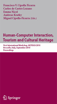 Human Computer Interaction, Tourism and Cultural Heritage :: Springer - LNCS